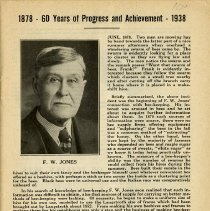 Image of 1878-1938  - 60 Years of Progress & Achievement, page 1