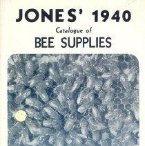 Image of Jone's Bee Supplies, 1940
