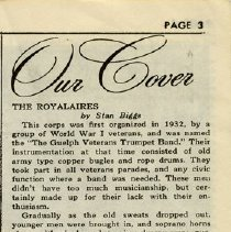 """Image of Article on """"The Royalaires,"""" p. 3"""