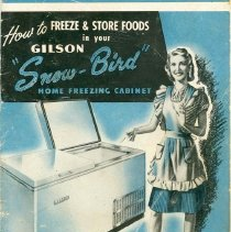 Image of Gilson Freezer Booklet