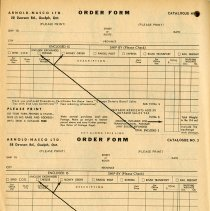 Image of Arnold-Nasco Limited Order Form, page 112