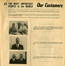"Image of ""To Our Customers,"" page 115"
