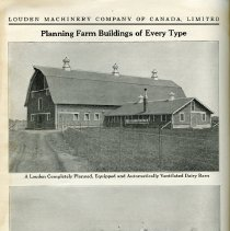 Image of Photographs of Ventilated Dairy Barn and Hog House, page 148