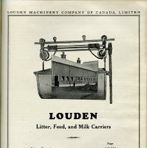 Image of Index, Louden Litter, Feed, and Milk Carriers, page 163