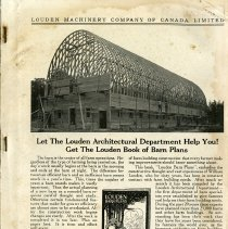 Image of Louden Architectural Department Book of Plans, page 3