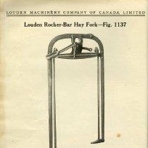 Image of Louden Rocker-Bar Hay Fork, page 28