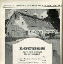 Image of Louden Barn and Garage Door Hangers Index, page 42