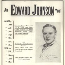 Image of An Edward Johnson Year, 1926