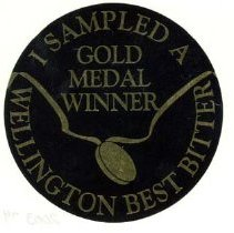 Image of Wellington Best Bitter Sticker