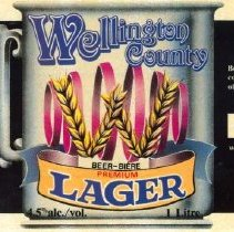 Image of Wellington Lager Label