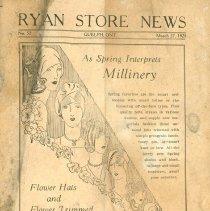 Image of Ryan's Newsletter, 1928