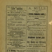 Image of Back Cover, Advertisements