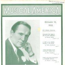 Image of Musical America, 1935