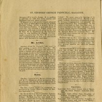 Image of Mr. Archer; Notes; Baptisms; Marriage; Burials, p.4