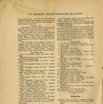 Image of Church Notes; Baptism; Marriages; Burials, p.4