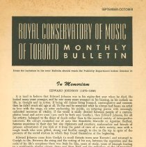 Image of Royal Conservatory Newsletter