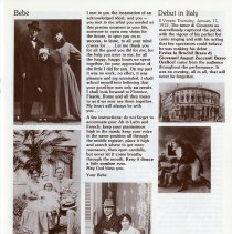 Image of Bebe; Debut in Italy, p.9