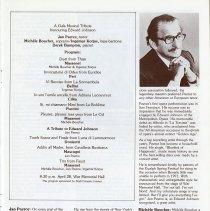 Image of Program, A Gala Musical Tribute Honouring Edward Johnson, p.23