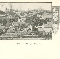 Image of View of Guelph from Grange St.