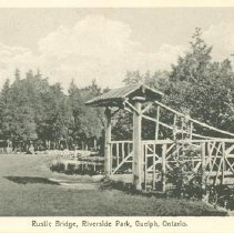Image of Rustic Bridge, Riverside Park