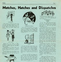 "Image of ""Matches, Hatches, and Dispatches"", page 7"