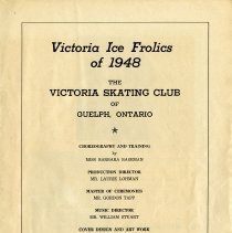 Image of Victoria Ice Frolics of 1948 Program, p.1