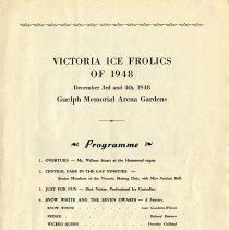 Image of Victoria Ice Frolics, December 3 & 4, 1948, Program, p.11