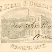 Image of Wm. Bell & Co. Envelope