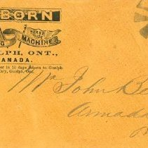 Image of Osborn Sewing Machine Envelope