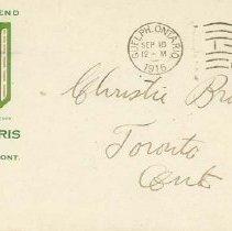 Image of 2004.27.11 - Envelope