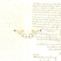 Image of Inside of Letter