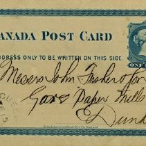 Image of Postcard from John M. Bond & Co., 1878