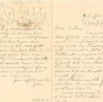 Image of Letter from John McAteer