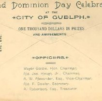 Image of Dominion Day Envelope