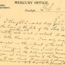 Image of Guelph Mercury Postcard