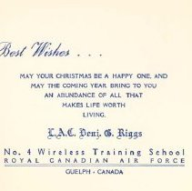 Image of No. 4 Wireless Christmas Card