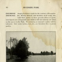"Image of Excursions and Picnics, ""Above the Dam,"" page 10"
