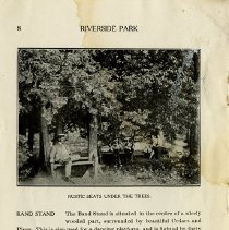 Image of Rustic Seats under the Trees, page 8