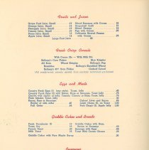 Image of Green Rooster Menu Page 2