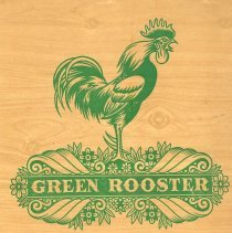 Image of Green Rooster Dinner Menu