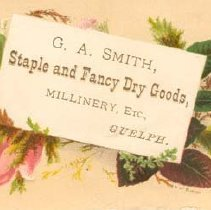 Image of G. A. Smith Ad Card