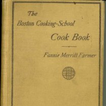 Image of Boston Cooking School Book