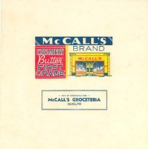 Image of McCall's Groceteria Wrapper