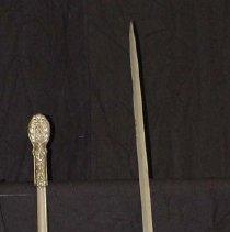 Image of 2004.74.1.2 - Sword, Presentation