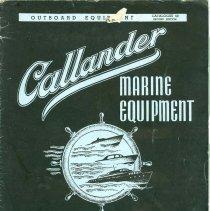 Image of Callander Foundry Catalogue