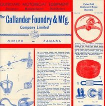 Image of Callander Foundry Flyer, pg. 1