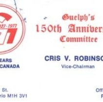 Image of Cris Robinson card 1977