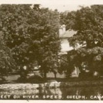 Image of Queen St. on Speed River