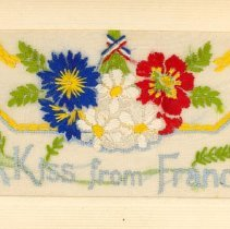 Image of .1 Embroidered Postcard