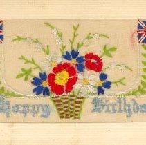 Image of Happy Birthday Postcard